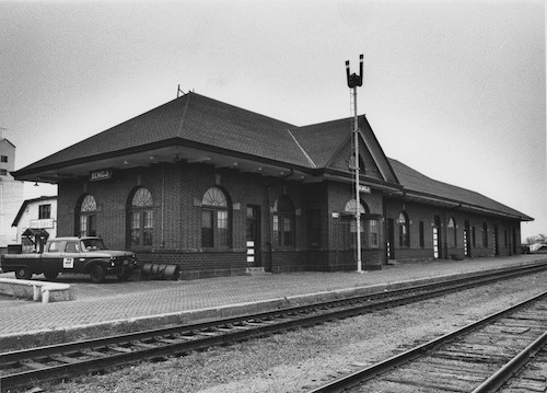 Great Northern Depot, Bemidji, likely 1970s