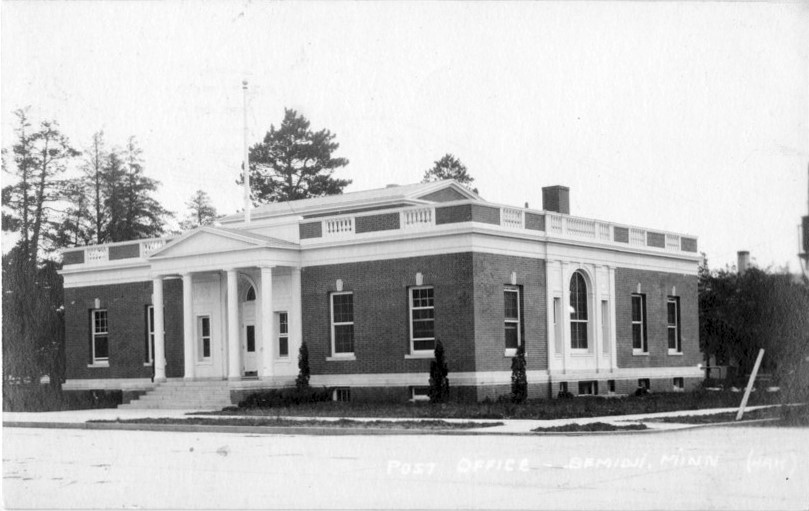 Post Office, Bemidji Minnesota, 1918