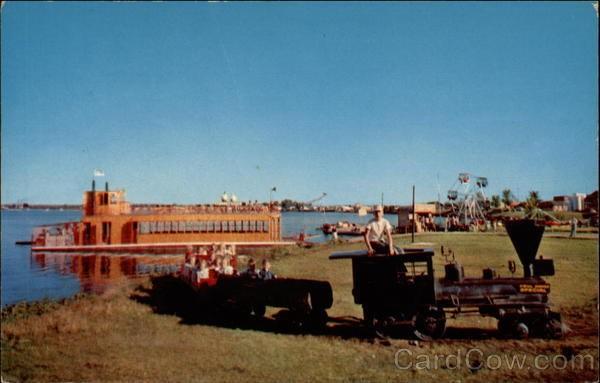 Paul Bunyan Playground on Lake Bemidji